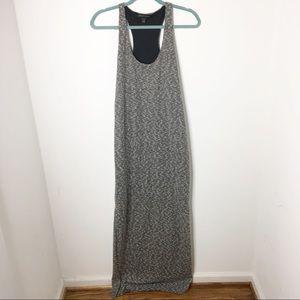 Banana Republic Heathers Gray Maxi Dress